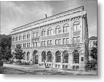 University Of Southern California Student Union Metal Print by University Icons