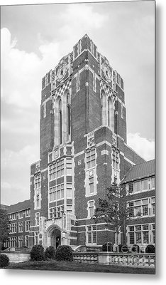 University Of Tennessee Ayres Hall Metal Print by University Icons
