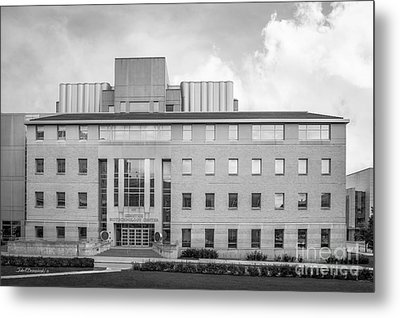 University Of Wisconsin Biotechnology Center Metal Print by University Icons