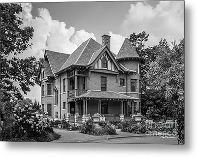 University Of Wisconsin Madison Agricultural Dean's Residence Metal Print by University Icons