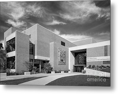 University Of Wisconsin Parkside Picken Center Metal Print by University Icons