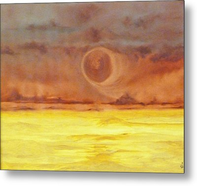 Unknown Planet Metal Print by Cheryl Allin
