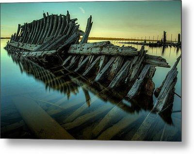 Unknown Shipwreck Metal Print by Jakub Sisak