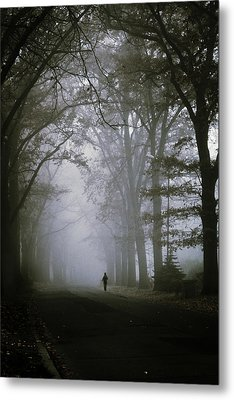 Unknown Way Metal Print by Cambion Art