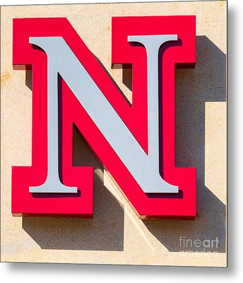 UNL Metal Print by Jerry Fornarotto
