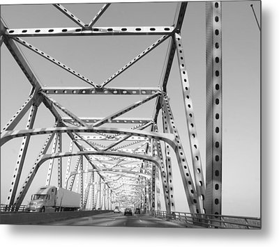 Up And Over Metal Print by James Granberry