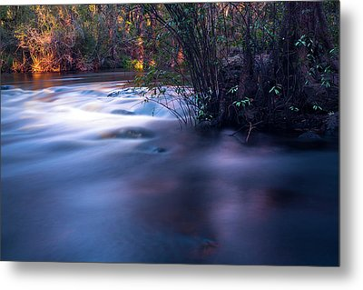 Up Stream Metal Print by Marvin Spates