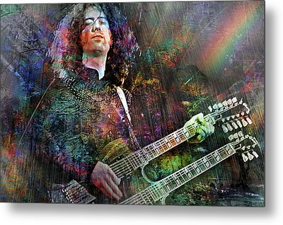 Upon Us All A Little Rain Must Fall Metal Print by Mal Bray