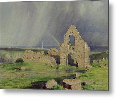 Upper Boddam Castle Metal Print by James Giles