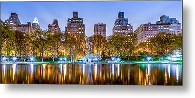 Upper East Side Reflections Metal Print by Az Jackson