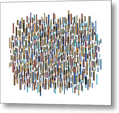 Urban Abstract Metal Print by Frank Tschakert