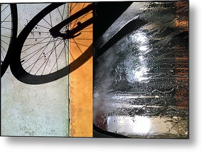 Urban Abstracts Compilations 18 Metal Print by Marlene Burns