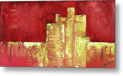 Urban Renewal I Metal Print by Shadia