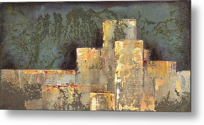 Urban Renewal II Metal Print by Shadia