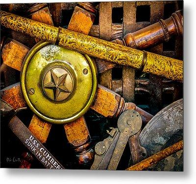 Uss Cumberland Nautical Still-life Metal Print by Bob Orsillo