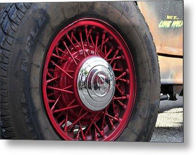 V8 Wheels Metal Print by David Lee Thompson