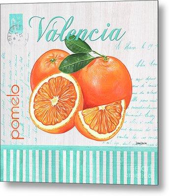 Valencia 1 Metal Print by Debbie DeWitt