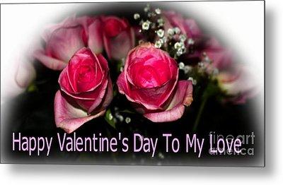 Valentine's Day 2 Metal Print by Kathleen Struckle