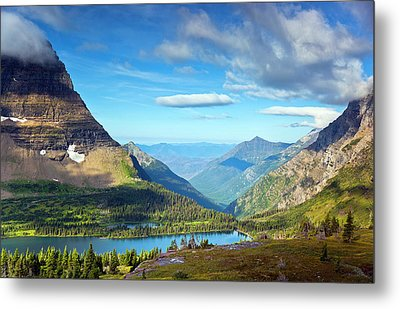 Valley Beyond Metal Print by Rebecca L. Latson