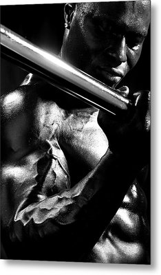 Vascularity Metal Print by Val Black Russian Tourchin