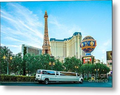 Vegas Vip Metal Print by Az Jackson
