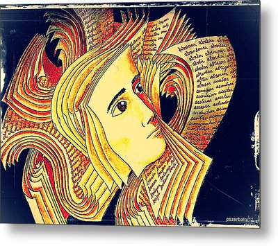 Verbal And Non Verbal Language Metal Print by Paulo Zerbato
