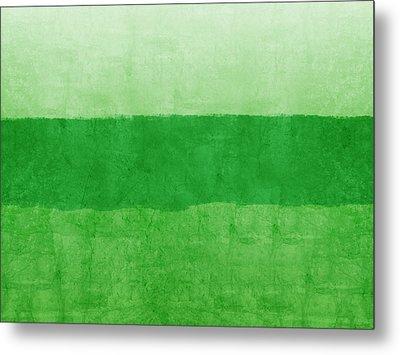 Verde Landscape 2- Art By Linda Woods Metal Print by Linda Woods