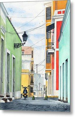 Viejo San Juan Metal Print by Tom Dorsz