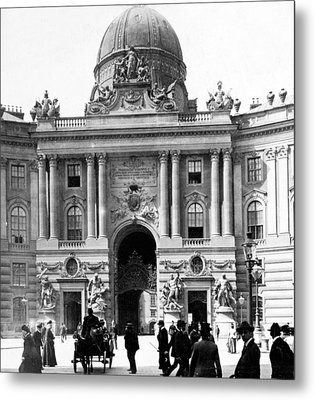 Vienna Austria - Imperial Palace - C 1902 Metal Print by International  Images