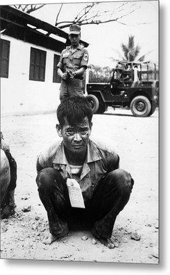 Vietnam War, Viet Cong, Heavily Metal Print by Everett