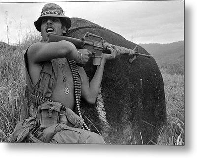 Vietnam War, Vietnam, Specialist. 4 Metal Print by Everett