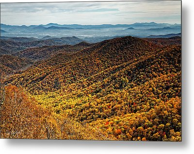 View From Blue Springs Gap Metal Print by Phill Doherty
