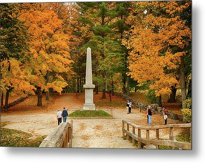 View From The Old North Bridge Metal Print by Jeff Folger
