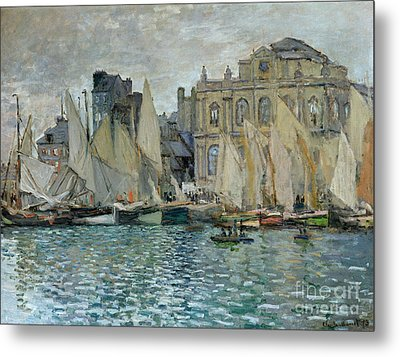 View Of Le Havre Metal Print by Claude Monet