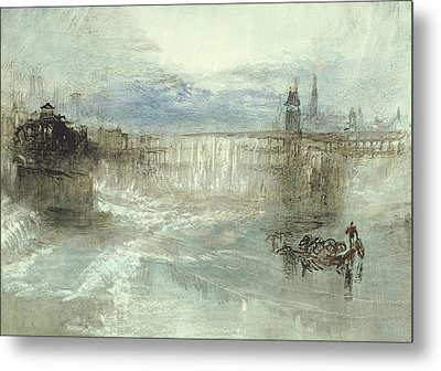 View Of Lucerne Metal Print by Joseph Mallord William Turner
