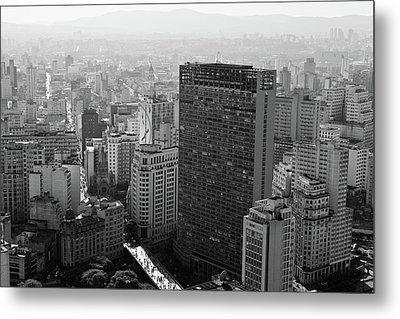 View Of Sao Paulo Metal Print by Jacobo Zanella