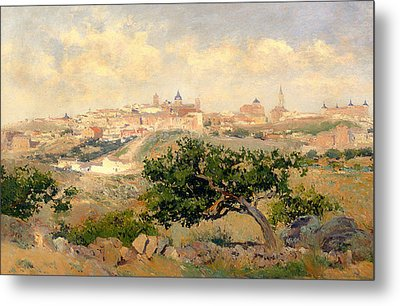 View Of Toledo Metal Print by Mountain Dreams