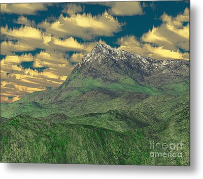 View To The Mountain Metal Print by Gaspar Avila