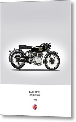Vincent Hrd Rapide 1948 Metal Print by Mark Rogan