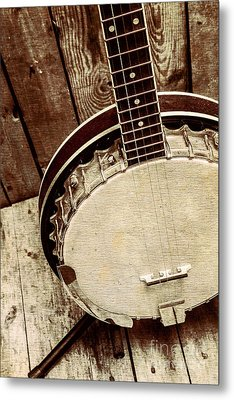 Vintage Banjo Barn Dance Metal Print by Jorgo Photography - Wall Art Gallery