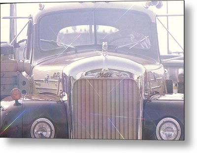 Vintage Mack Metal Print by Don Youngclaus