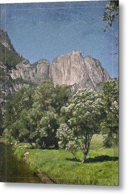 Vintage Yosemite Metal Print by Teresa Mucha
