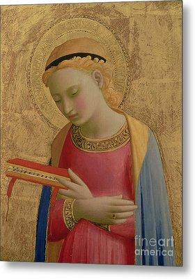 Virgin Annunciate Metal Print by Fra Angelico