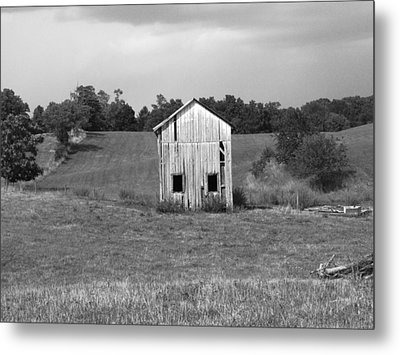 Virginia Shed Metal Print by Michael L Kimble