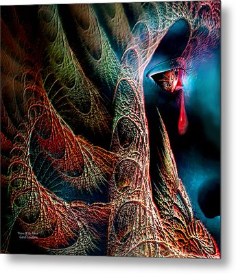 Vision Of An Artist Metal Print by Carol Cavalaris