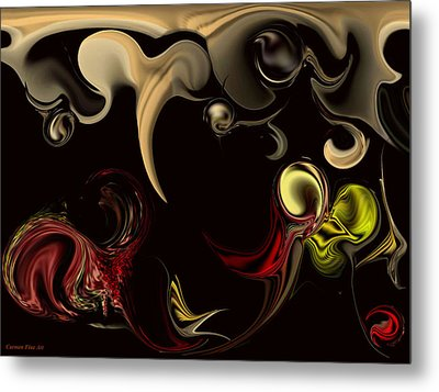 Vision With Purity Metal Print by Carmen Fine Art