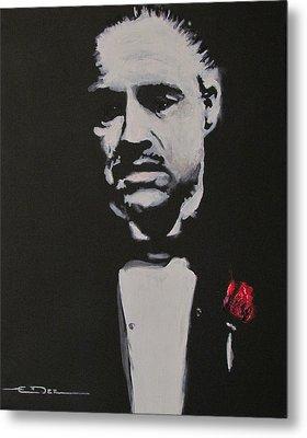Vito Andolini Corleone Metal Print by Eric Dee