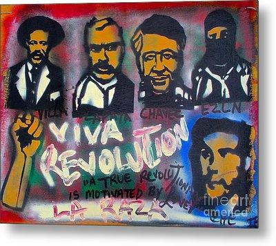 Viva Revolution Metal Print by Tony B Conscious
