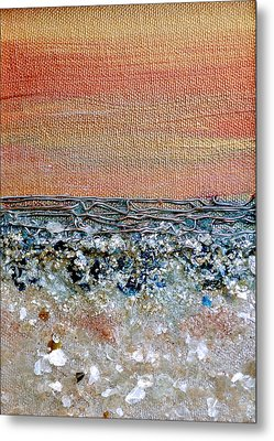 Vivid Beach Metal Print by Regina Valluzzi