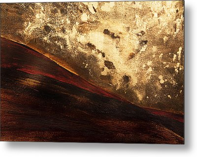 Volcano Sunrise Metal Print by Tara Thelen - Printscapes
